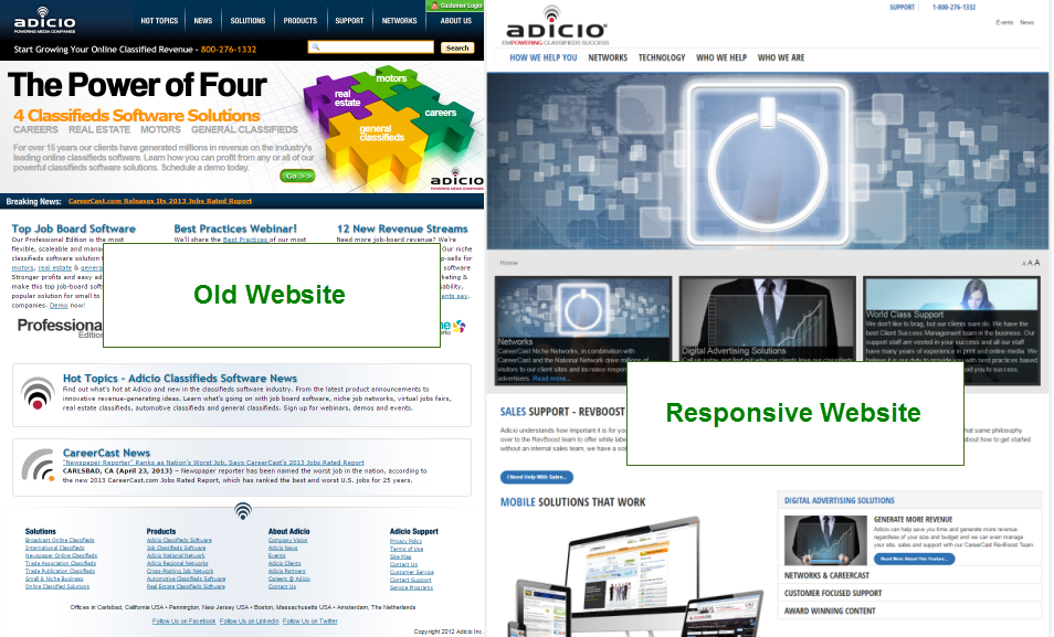 Corporate Website Redesign